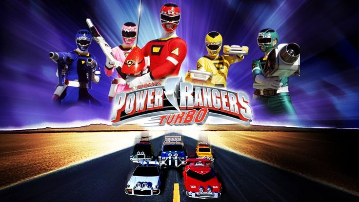 Power Rangers Turbo | Siêu Nhân Xe - Trọn bộ