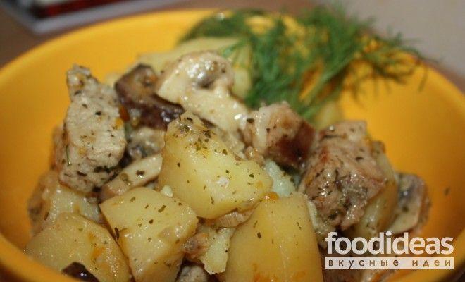Как вкусно приготовить картошку с свининой