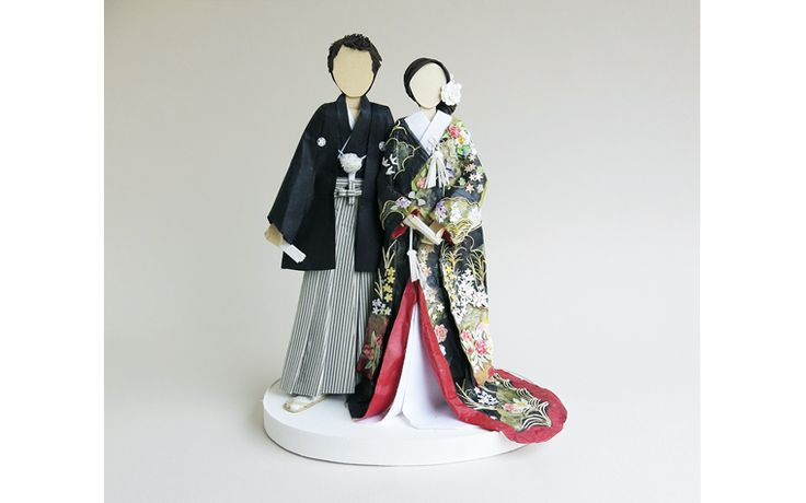Concarta Paper Wedding Portrait-Kimono | concarta