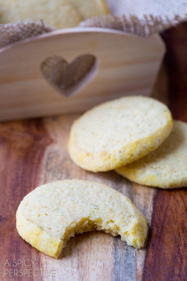 Tender Cornmeal Cookies (Best Sugar Cookie Recipe Variation!) #cookies ...