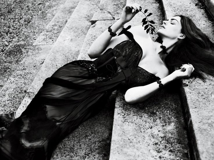 Anne Hathaway via Interview