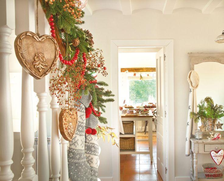 Decorar la escalera decorar tu casa es - Decorar pared escalera ...