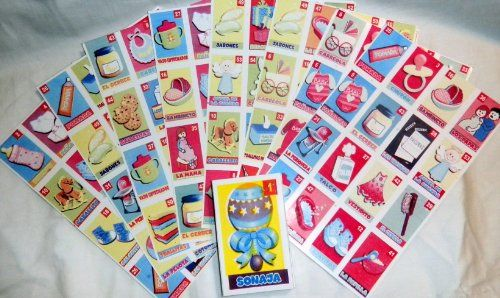 mexican baby shower loteria bingo in spanish regalitox http www