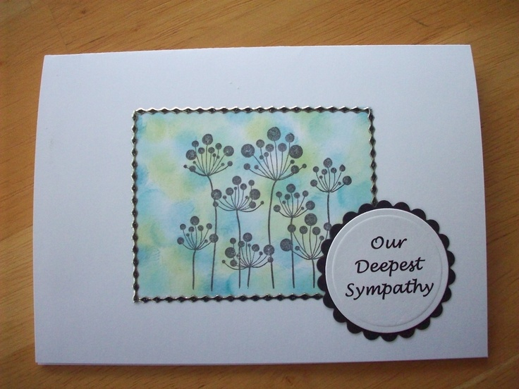 Sympathy Card | Cards and such by Noreen | Pinterest