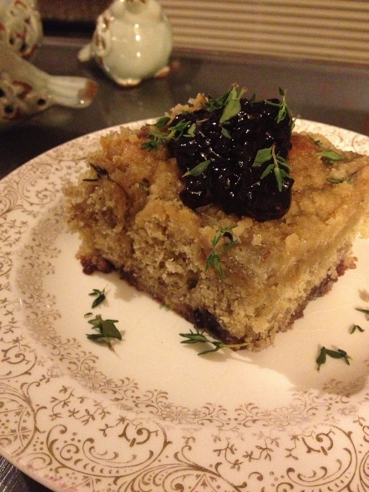 Blackberry Thyme Crumb Cake - http://www.seriouseats.com/recipes/2013 ...