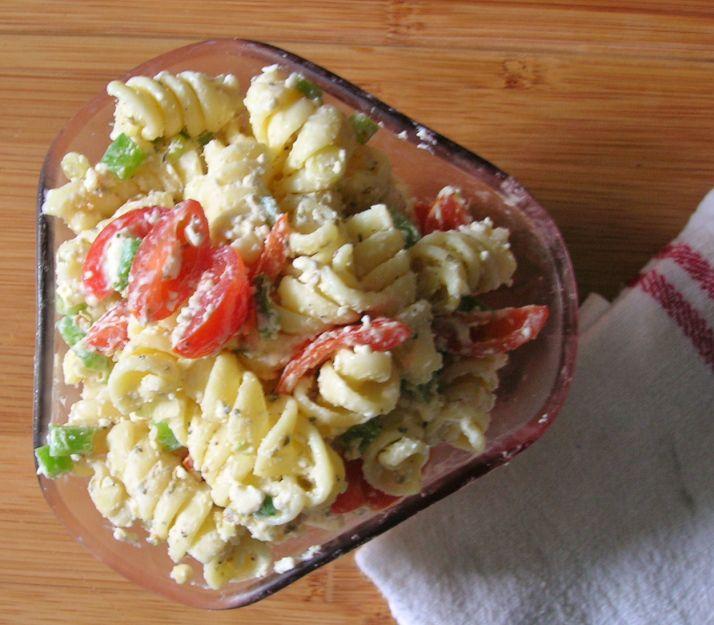 Greek Pasta Salad   Salads   Pinterest