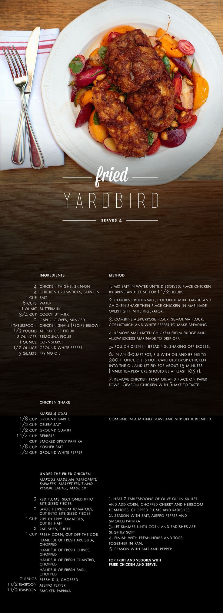 Marcus Samuelsson - Fried Yardbird | Cooking | Pinterest