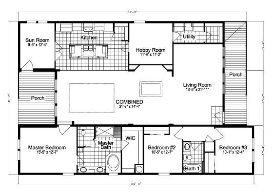 The Casita Ii Tdx4646m Home Floor Plans Floorplans