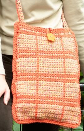 Crochet Shoulder Bag Pattern Free - Online Crochet Instruction