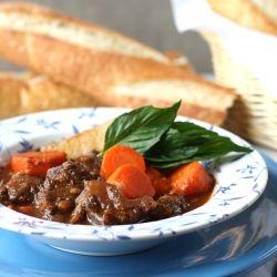 Vietnamese beef stew, aka bò kho in Vietnamese, very tasty with a ...