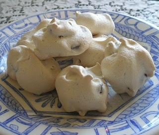 Chocolate Chip Meringue Cookies, Gluten-Free and Dairy-Free