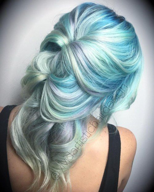 Watch 20 Mint Green Hairstyles That Are Totally Amazing video