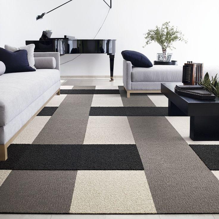 Rug Design Made Out Of Flor Carpet Tiles Riverwood House