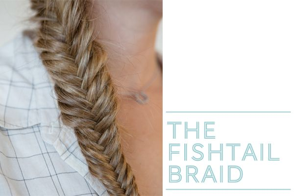 3 neat braided hair styles... the fishtail, the delicate crown braid, and the french braid bun.