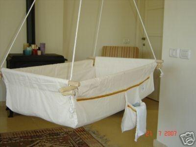 Baby Cradle Crib Hammock Motion Bed Infant Big Bassinet