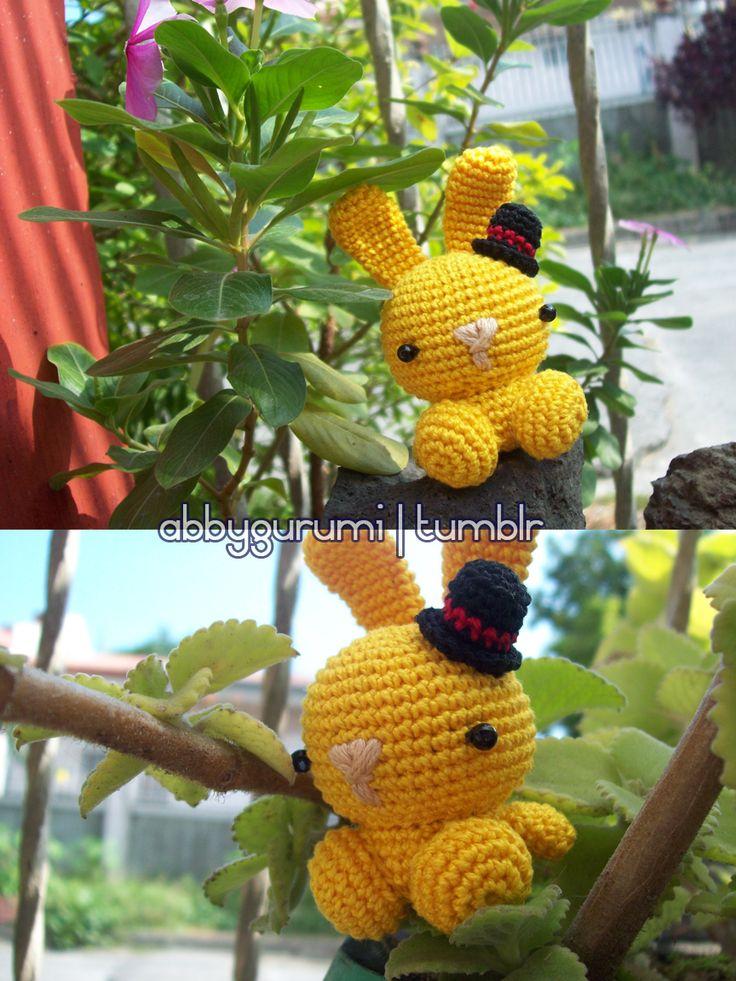 Geek Amigurumi Pattern : free bunny amigurumi pattern Crochet Stuffed Creatures ...