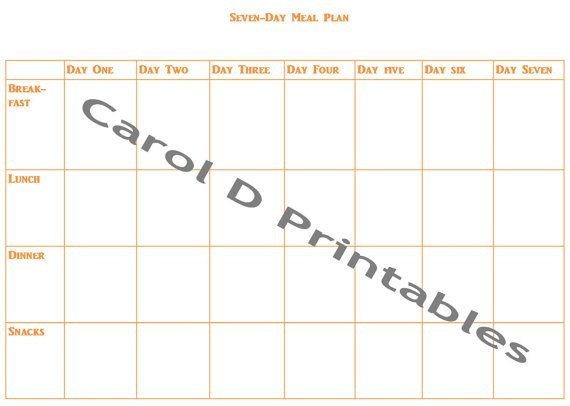 7 Best Images of 7Day Calendar Template Printable  7Day