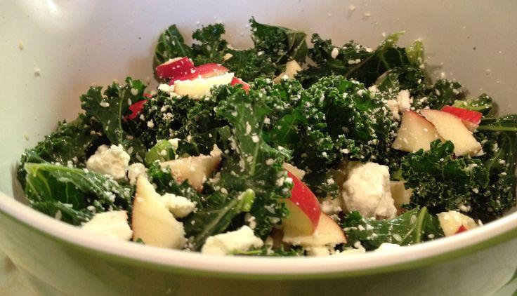 simple spicy sesame kale salad   cook   Pinterest