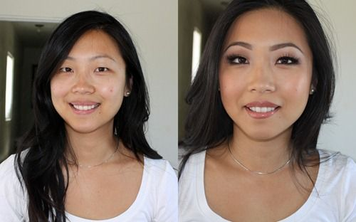 Bridal Makeup Pictures Before And After : wedding makeup for an asian girl :) Wedding ideas ...