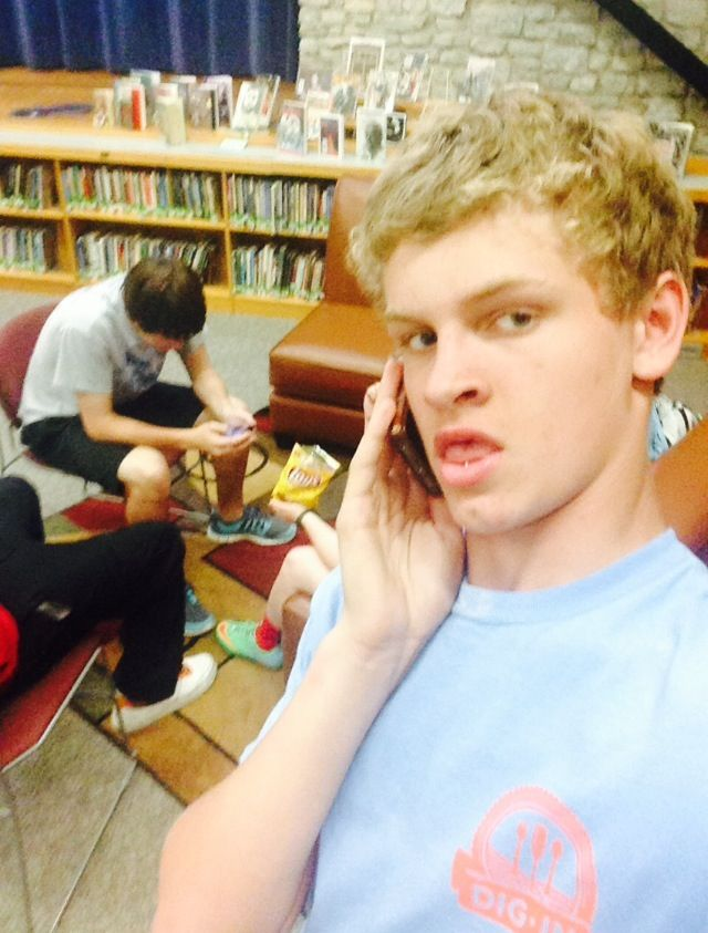 Day 42: April 28, 2014. Lee took my phone