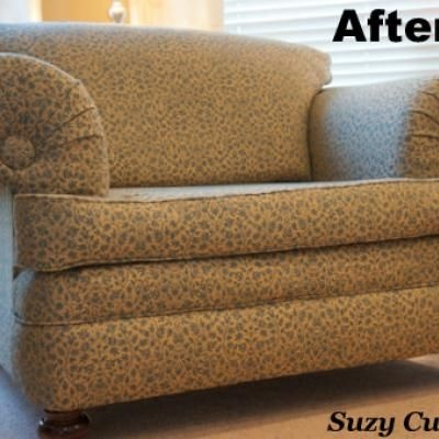 Reupholstery Tips {makeover}