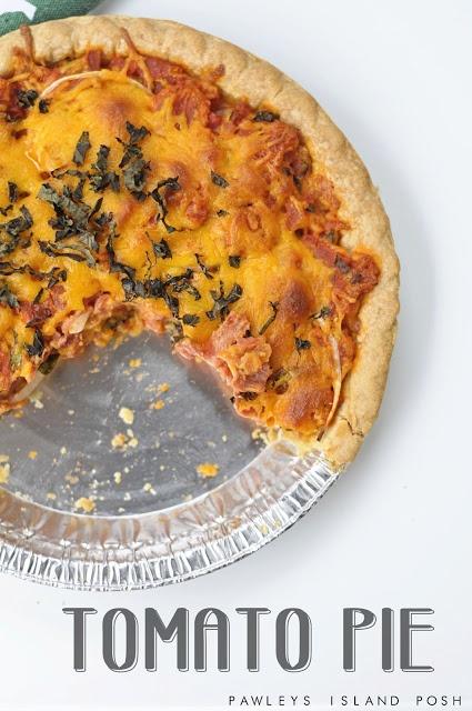 Pawleys Island Posh: Tomato Pie