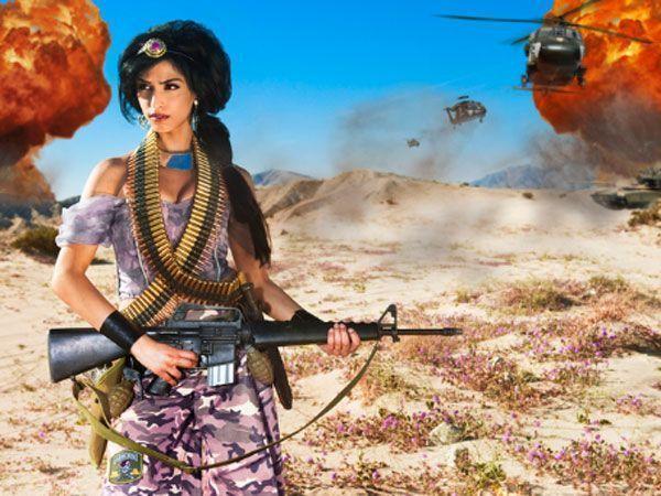 Dina Goldstein's Fallen Princesses
