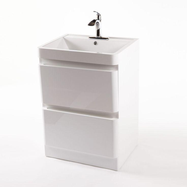 Thin Sink : Skinny Stack Sink Cabinet dotandbo.com 215 Lafayette Renewal Pi ...