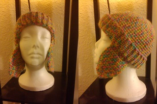Those Headcoverings: Free Head Scarf Pattern - knit in