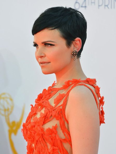 another side view of Ginnifer Goodwin's pixie because you can never have enough pictures to show your hairstylist exactly how you want your pixie
