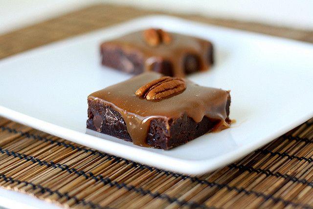 Ooey Gooey Turtle Brownies by Tracey's Culinary Adventures, via Flickr