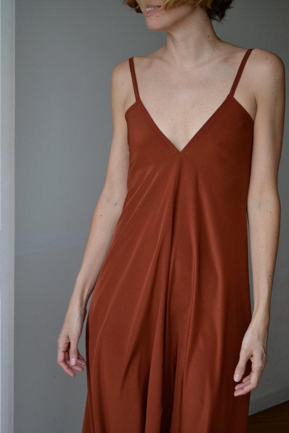 Bridesmaid Dresses Terracotta 12