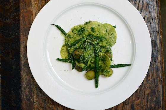Corzetti with Pesto: Ligurian Pasta Specialty