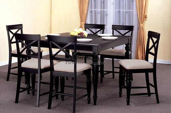 Table And Chairs Myrtle Beach Black Counter Height Dining Table