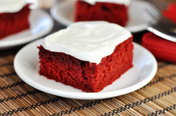 Red Velvet Sheet Cake with Cream Cheese Frosting | Recipe
