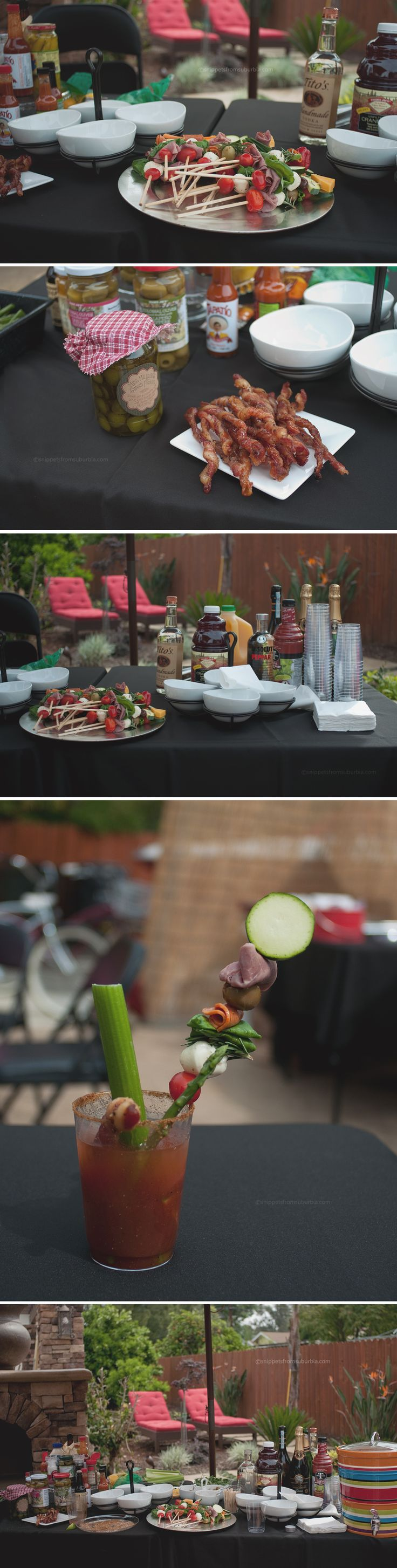 Bloody Mary Bar complete with Bacon Swizzle Sticks… My 2013 Bacon ...