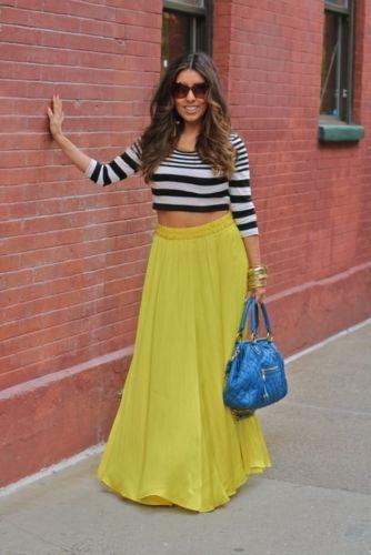 Zara Yellow Skirt Uk 119