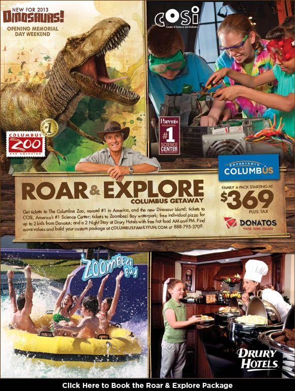 Columbus Zoo Zoombezibay Cosi Ohio Pinterest