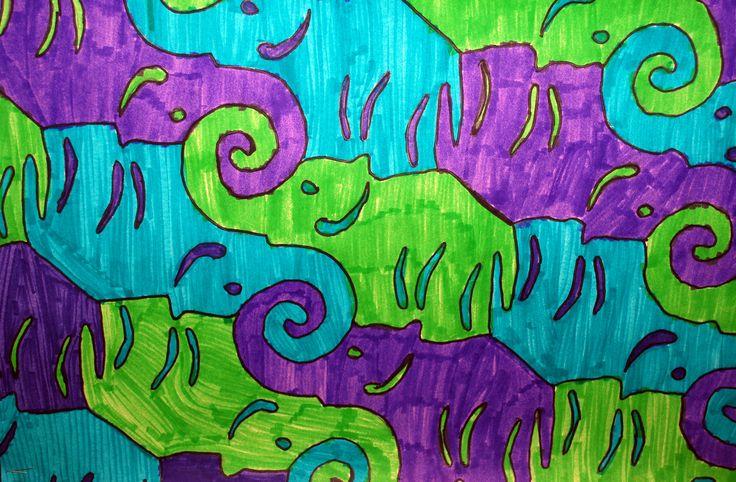 How To Make Elephant Tessellations Giraffe tessellation related ...