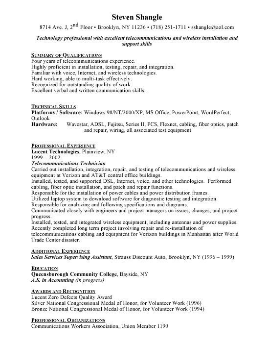 writing lab application letter telecom engineer