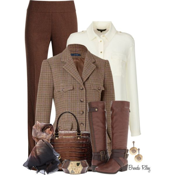 """Falling into Texture with Tweed"" by brendariley-1 on Polyvore"