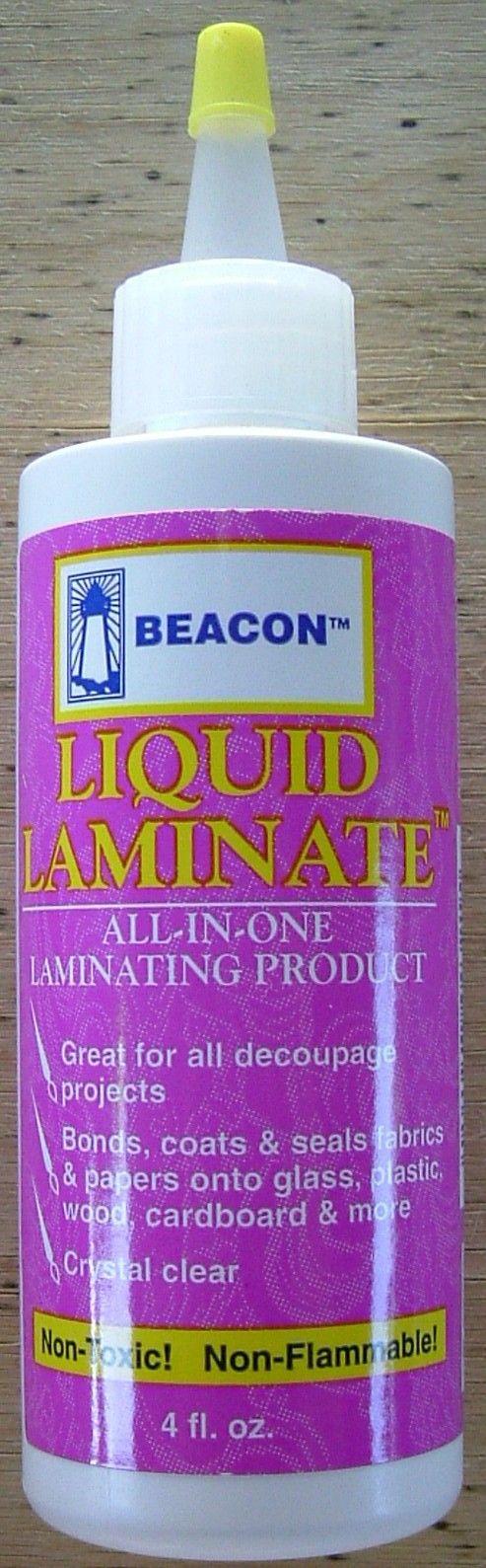 Liquid Laminate Crafts
