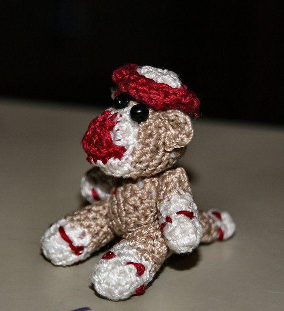 Amigurumi Crochet Sock Monkey : Pinterest
