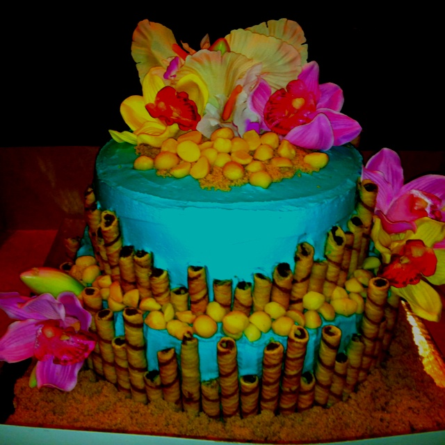 hawaiian baby shower cake ideas themed cakes hawaiian bridal