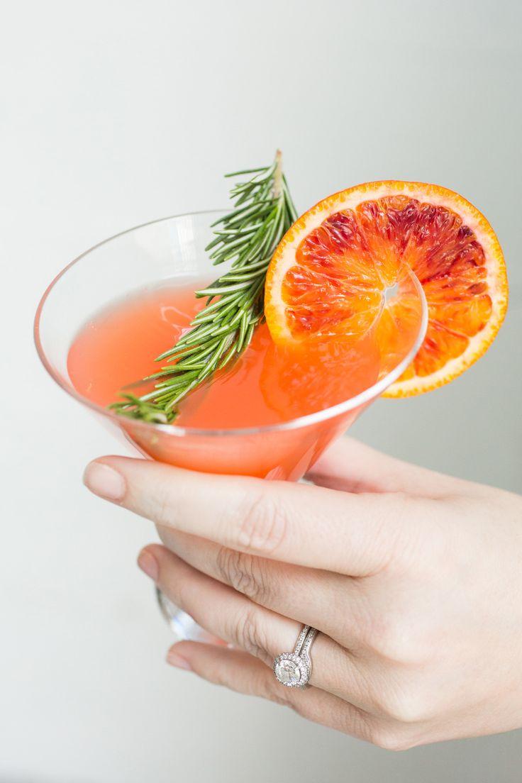 Blood-Orange Cocktails Recipe — Dishmaps