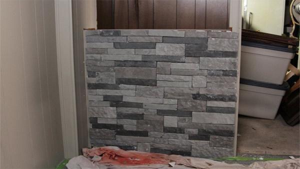Granite Look Alike Countertops : ... stone exterior and a granite-look-alike laminate countertop in this