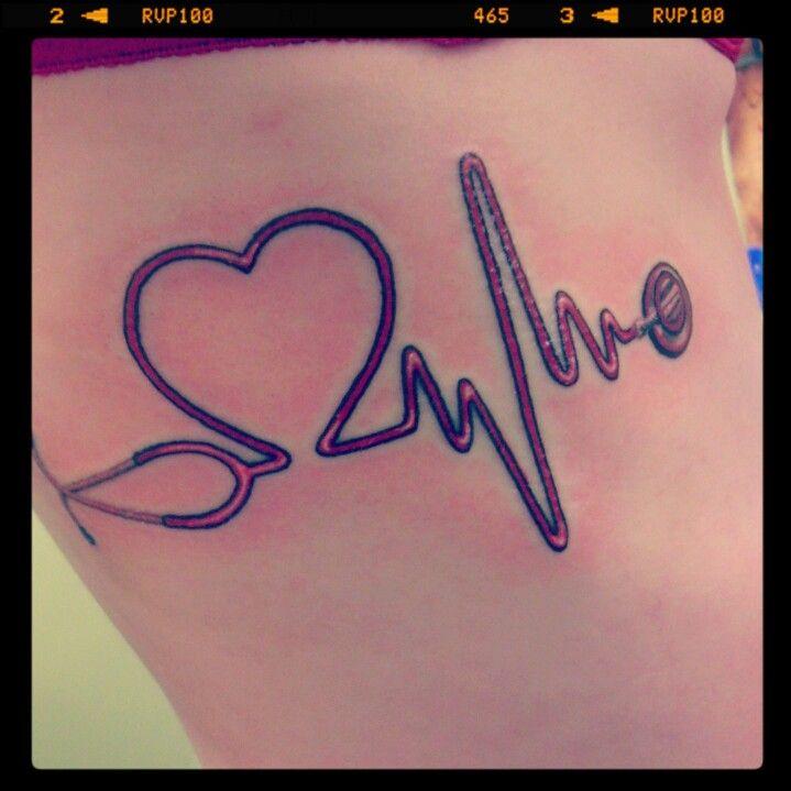 Tattoo Designs Ecg: ECG Tattoo!