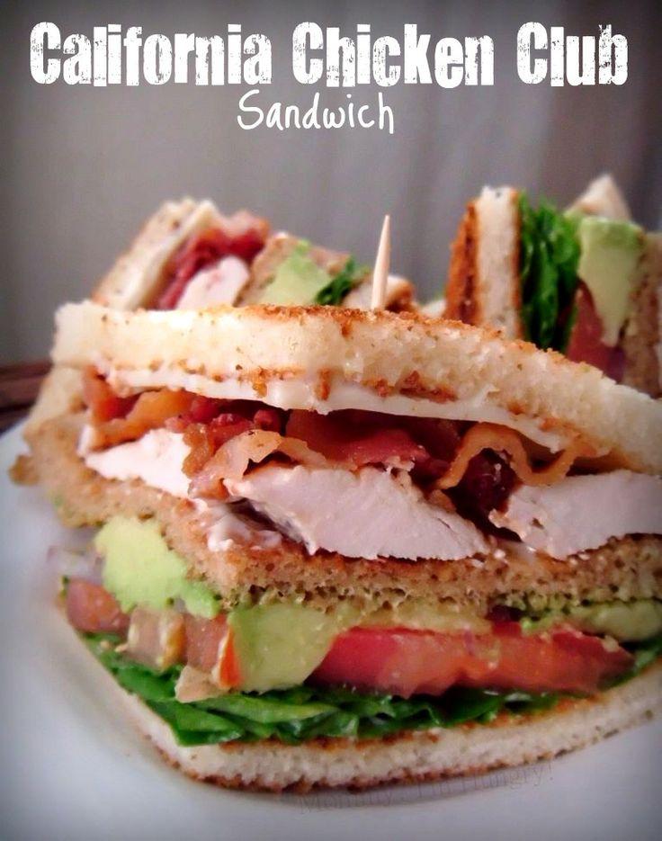 California Chicken Club Sandwich | Food | Pinterest