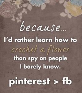 why pinterest > facebook!