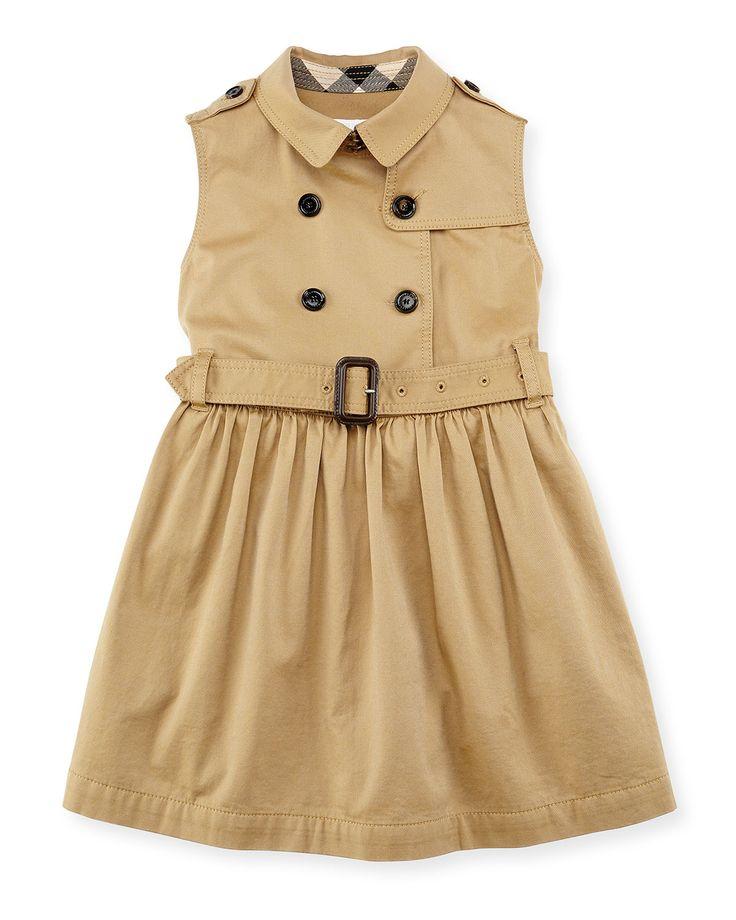 Burberry Sleeveless Trench Dress Emersyn Kate